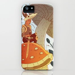 Tiny Warrior iPhone Case