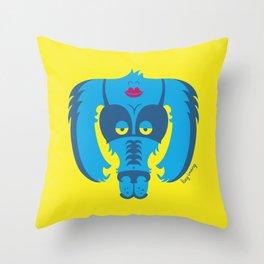 Monster Lingerie Throw Pillow