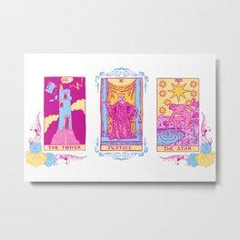 We Believe You - A Three Card Tarot Spread Metal Print