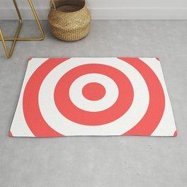 Target (Salmon & White Pattern) Rug