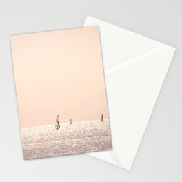 Golden Hour Surfers Stationery Cards