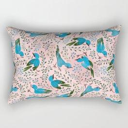 Birds in Spring Rectangular Pillow