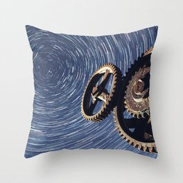Motionless Industry Throw Pillow