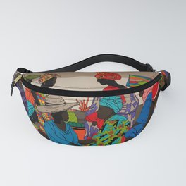 African market 3 Fanny Pack