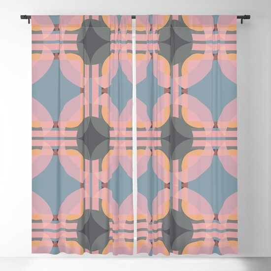 Chichevache - Colorful Decorative Abstract Art Pattern by alphaomega