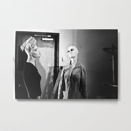 Bitch Please Metal Print