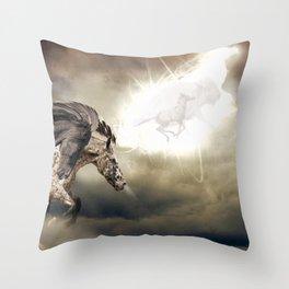 The Great Spirit Throw Pillow
