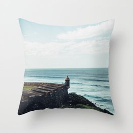 Viejo San Juan Throw Pillow