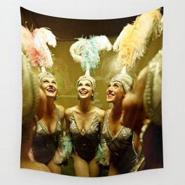1950's Showgirls Wall Tapestry