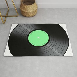 Music Record Rug