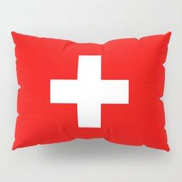 Flag of Switzerland - Swiss Flag Pillow Sham