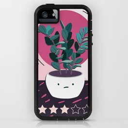 Mediocre Houseplant is Just Okay (大丈夫よ) iPhone Case