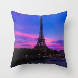 Paris is always Paris Throw Pillow
