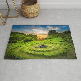 Fairytale Landscape, Isle of Skye, Scotland Rug