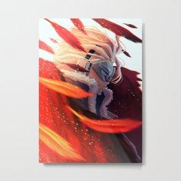 Hawks Hero Metal Print