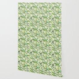 Shamrock and Clover Field Wallpaper