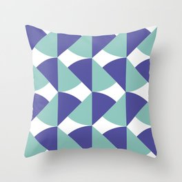 Underwater Colors Throw Pillow