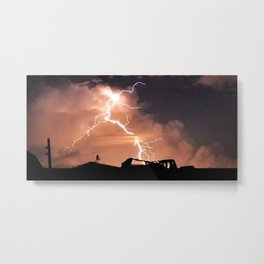 Mister Lightning Metal Print