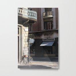 La Strada, Turin, Italy Metal Print