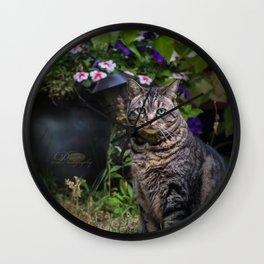 Oliver Posing Wall Clock