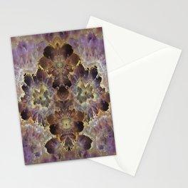 Amethyst Geode Wall Art Stationery Cards