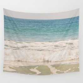 Beach Waves Wall Tapestry