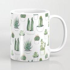 watercolour cacti and succulent Coffee Mug