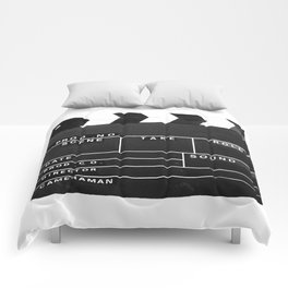 Film Movie Video production Clapper board Comforters