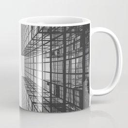 Black and White Skyscraper Coffee Mug