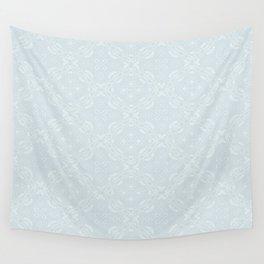 Z Lace 2B - Light Grey Wall Tapestry