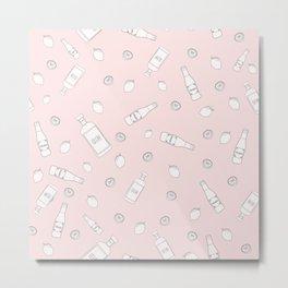 Pinky gin Metal Print