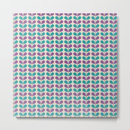 Flowe pattern Metal Print