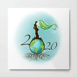Mother Earth 2020 Metal Print
