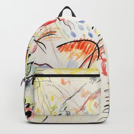 Wassily Kandinsky Small Pleasures Backpack