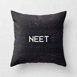 NEET Throw Pillow