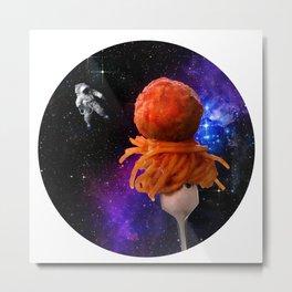 Space Spaghetti IRL Metal Print