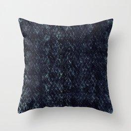Black Snakeskin Throw Pillow