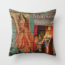 cuba libre Throw Pillow