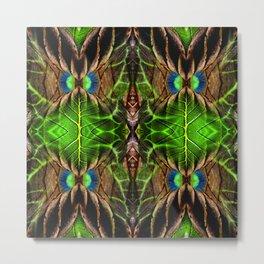 Leafy Pandanus Metal Print