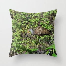 Nature's Secret is Patience Throw Pillow