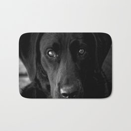Loyalty  Black Lab  Bath Mat
