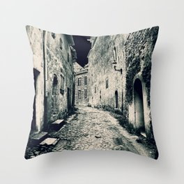 Street in the old town Throw Pillow