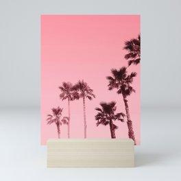 Tranquillity - flamingo pink Mini Art Print