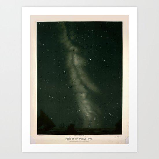 The Milky Way by Étienne Léopold Trouvelot (1874-1876) by brainpicker