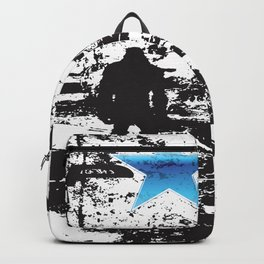 Sasquatch Is Real Star Backpack