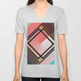 Patterns Unisex V-Neck