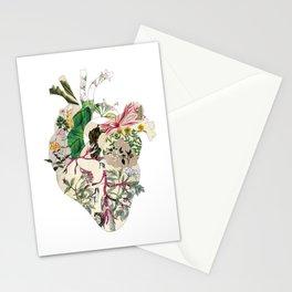 Vintage Botanical Heart Stationery Cards