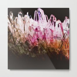 Rainbow quartz Metal Print