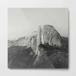 Half Dome V (black and white version) Metal Print