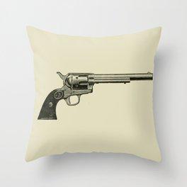 Revolver Throw Pillow